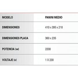 SANDWICHER HOSTELERIA Panini Medio
