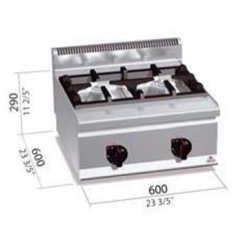 Cocina industrial Bertos G6F2BH6