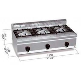 Cocina industrial Bertos G6F3BH12