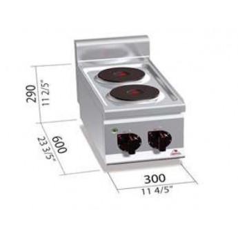 Cocina industrial Bertos G6P2B
