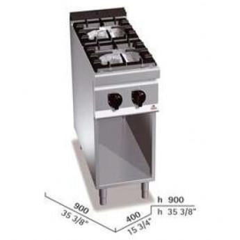 Cocina industrial Bertos G9F2M