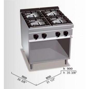 Cocina industrial Bertos G9F4M