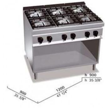 Cocina industrial Bertos G9F6M