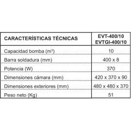 ENVASADORA IRIMAR EVT-400/10