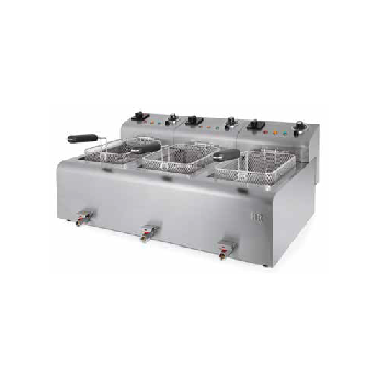 Freidora industrial fainca hr fd10l10l10ltrif900 for Freidora industrial