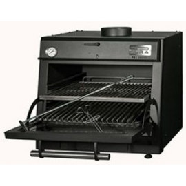 HORNO DE CARBÓN INDUSTRIAL PIRA 70 XL LUX BLACK