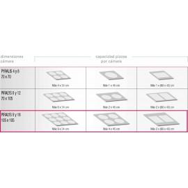 HORNO PARA PIZZA elÉctrico y analógico PIZZA GROUP PYRALIS M18