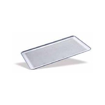 Bandeja lisa de aluminio perforado 600x400