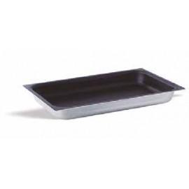 Bandeja gastronorm 1/1 lisa 65mm de aluminio antiadherente de Pujadas