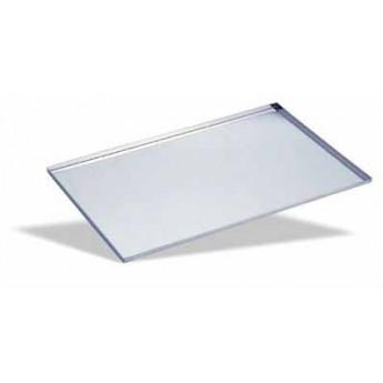 Bandeja lisa aluminio para pasteleria 400x300 borde 90º