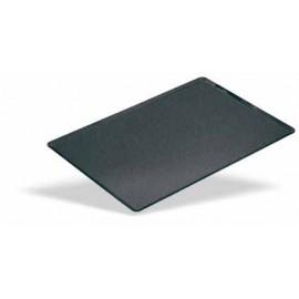 Bandeja lisa aluminio antiadherente 400x300 borde 45 grados