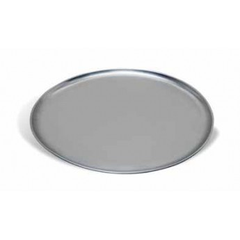 Bandeja para pizza redonda lisa de aluminio diam.25cms
