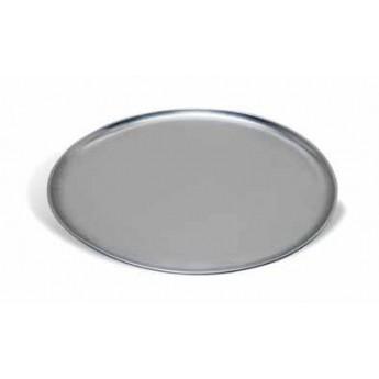 Bandeja para pizza redonda lisa de aluminio diam.28cms