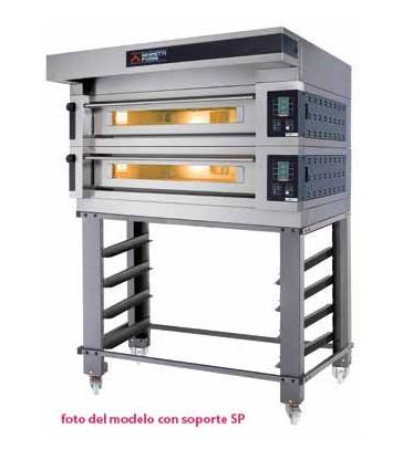HORNO PARA PIZZA 2 camaras MORETTI COMP S100 2/S