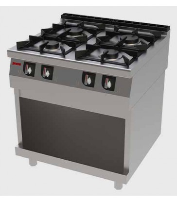 Cocina industrial Jemi T704