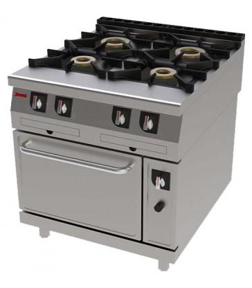 Cocina industrial Jemi 411