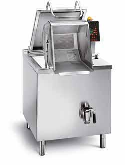 Cocedor de pasta industrial para grandes caterings, cocinas profesionales de gran producción y industria alimentaria. Ya disponible en EquipoH