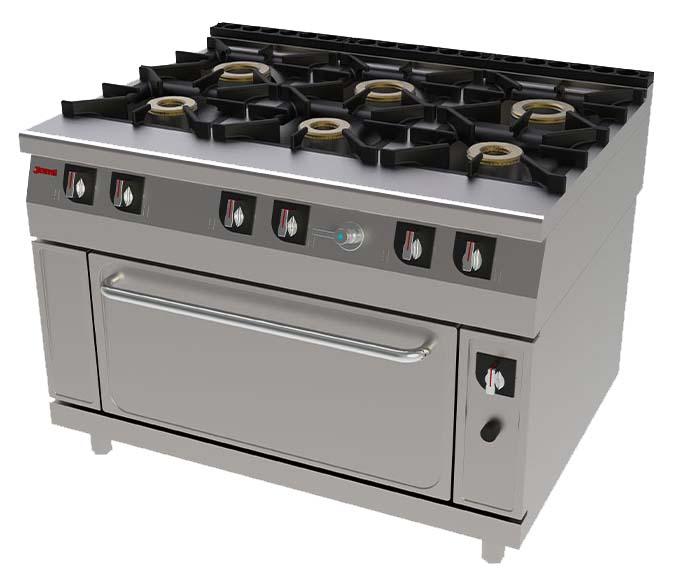 cocina industrial para comedores escolares