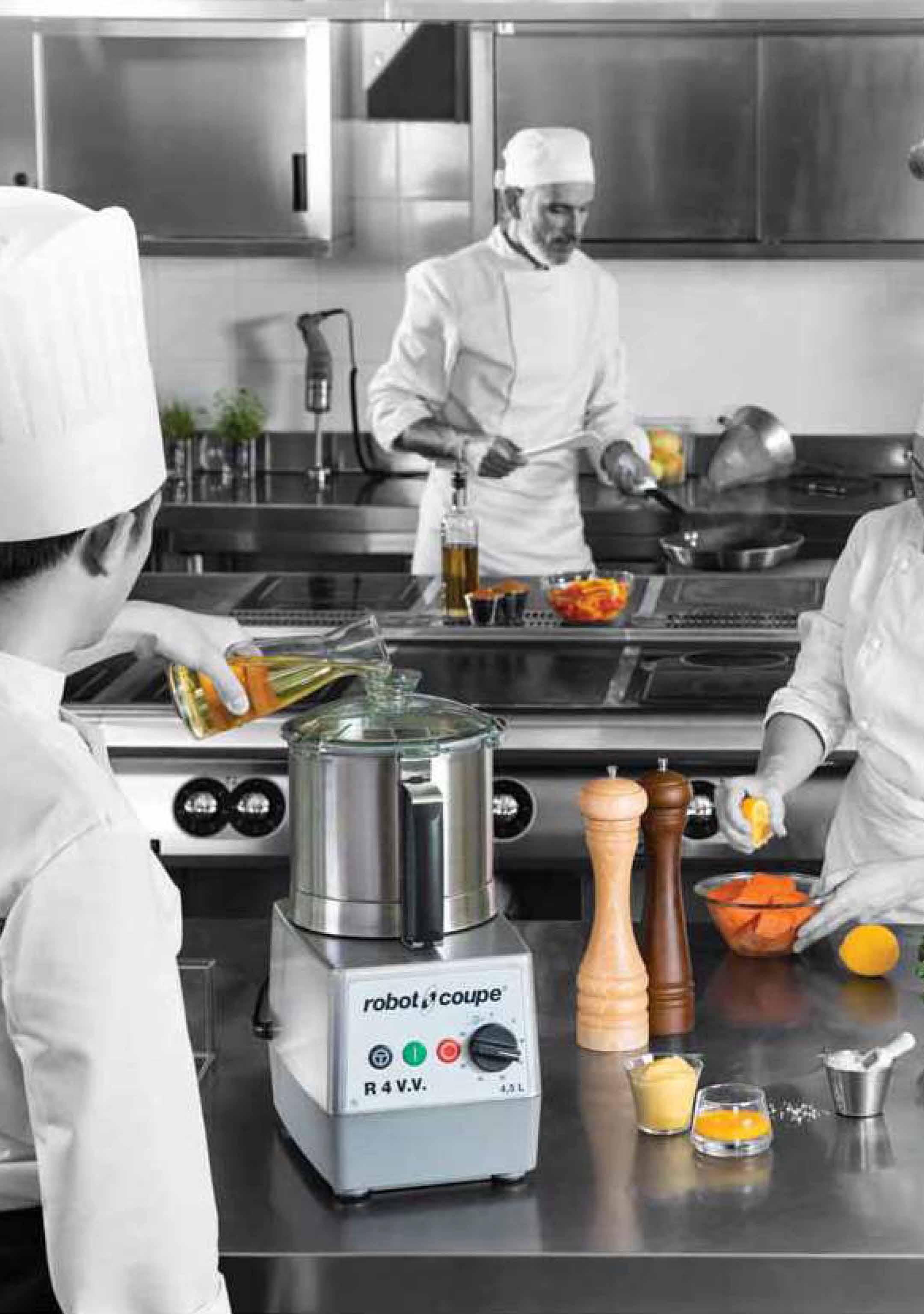 maquinaria auxiliar para cocina profesional
