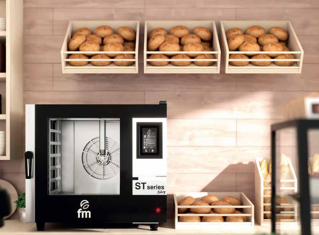 hornos fm serie bakery