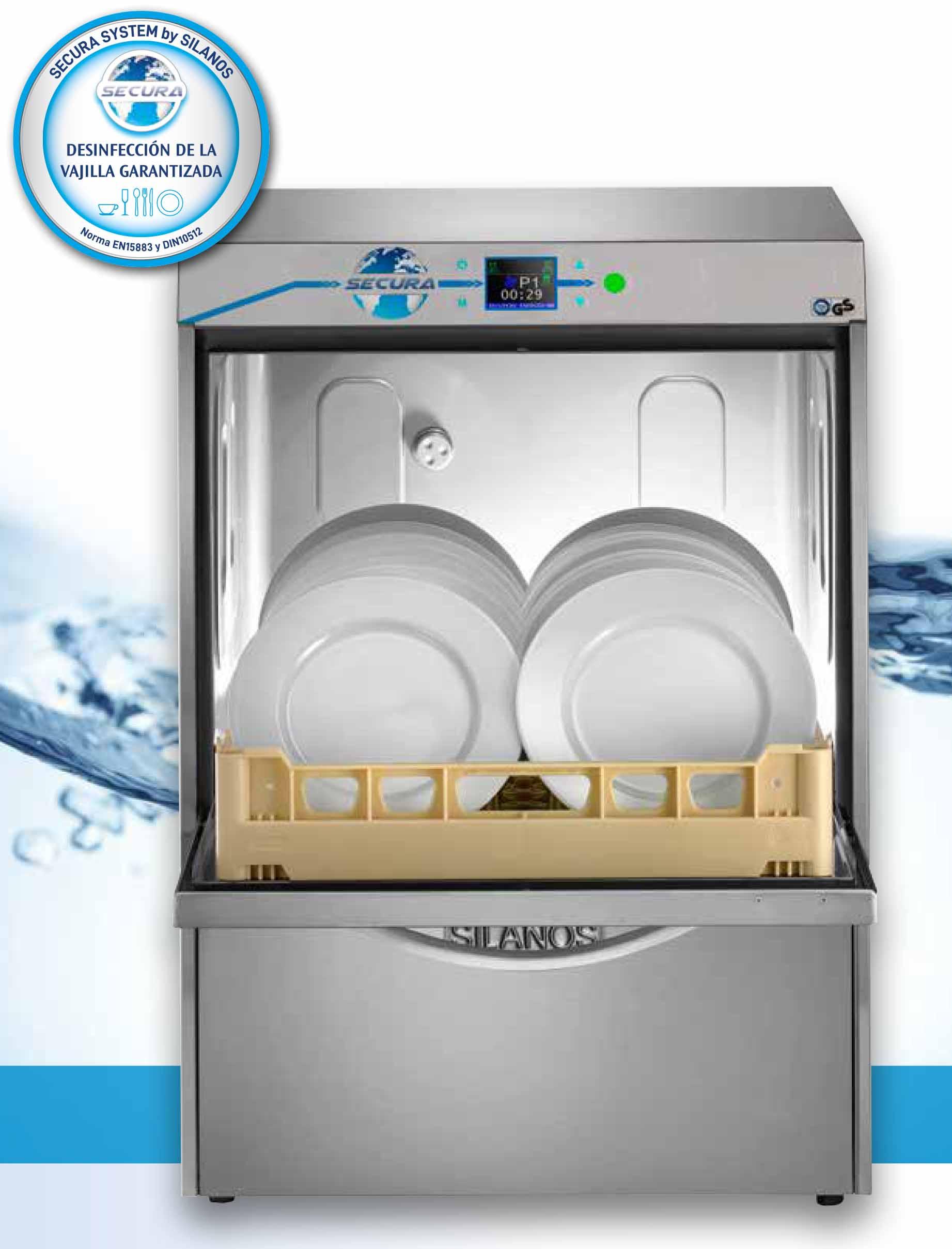 lavavajillas industrial con certificado HACCP