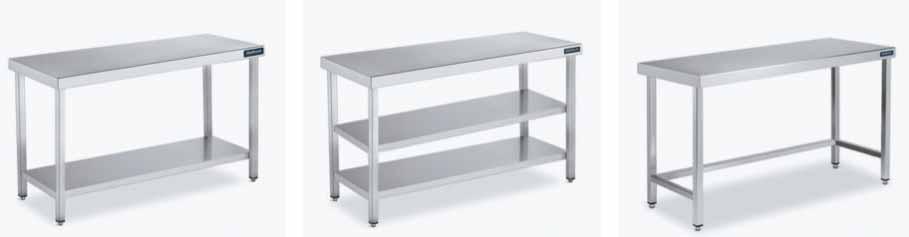 muebles de acero inoxidable para industria alimentaria