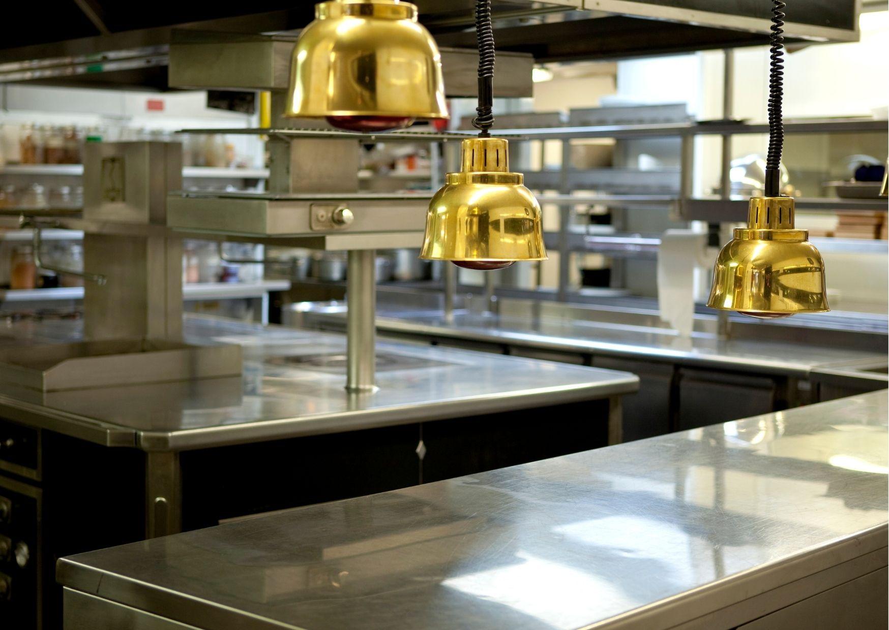 muebles de acero inoxidable para cocinas