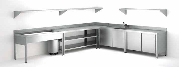 muebles de inox para cocina